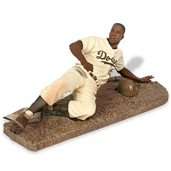 The Jackie Robinson Chase Sports Pick figure from McFarlane Toys