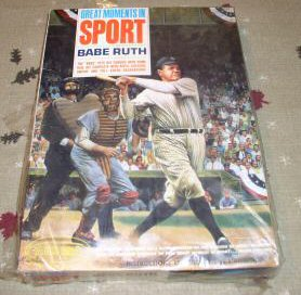 Babe Ruth Great Moments in Sports model from Aurora Plastics Corp.