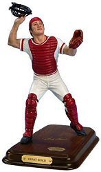 Johnny Bench figure from Danbury Mint