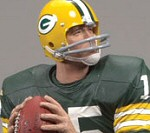 Photo of the Bart Starr Sports Picks NFL Legends 5 sports action figure from McFarlane