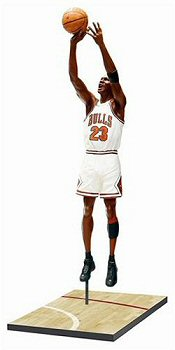 Alternate Version - Michael Jordan Pro-Shots Figure from Upper Deck