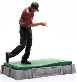 Prototype of Tiger Woods 2 Pro-Shots Figure from Upper Deck