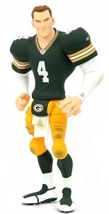 All-Star Vinyl sports figure of Brett Favre from Upper Deck